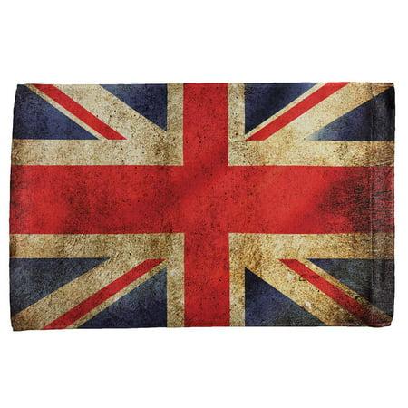 1cd67cc991 British Flag Union Jack Grunge Distressed All Over Hand Towel - Walmart.com