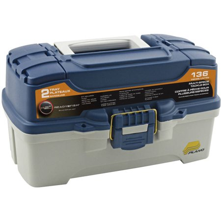 Ready 2 fish 2 tray 136 piece tackle box for Ready 2 fish