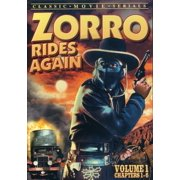 Zorro Rides Again 1 Chapters 1-6 (DVD)