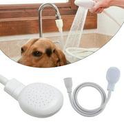 Portable Shampoo Sprayer, Multipurpose Head Sink Spray Hose Kitchen Faucet Salon