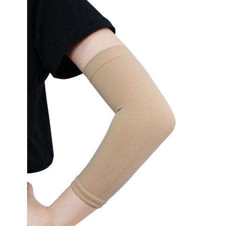 21396fdd19 2pcs Skin Color Unisex Body Beauty Arm Shaper Line Modify Skin Firming  Sleeves - Walmart.com
