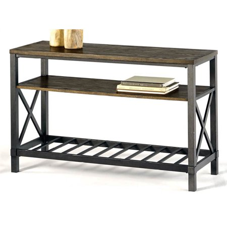 2 shelf console table. Black Bedroom Furniture Sets. Home Design Ideas