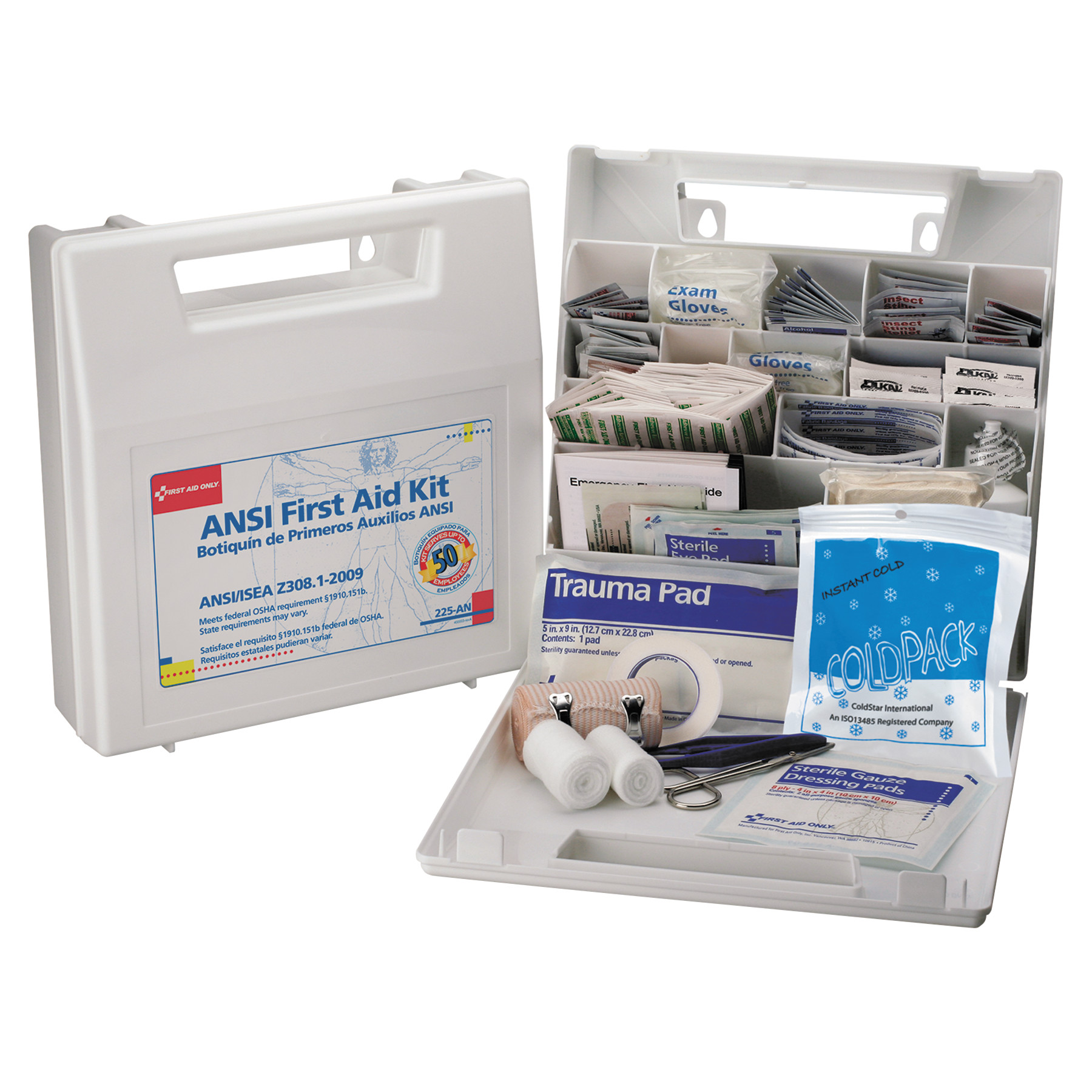 First Aid Only 50-person Worksite First Aid Kit by FIRST AID ONLY, INC.