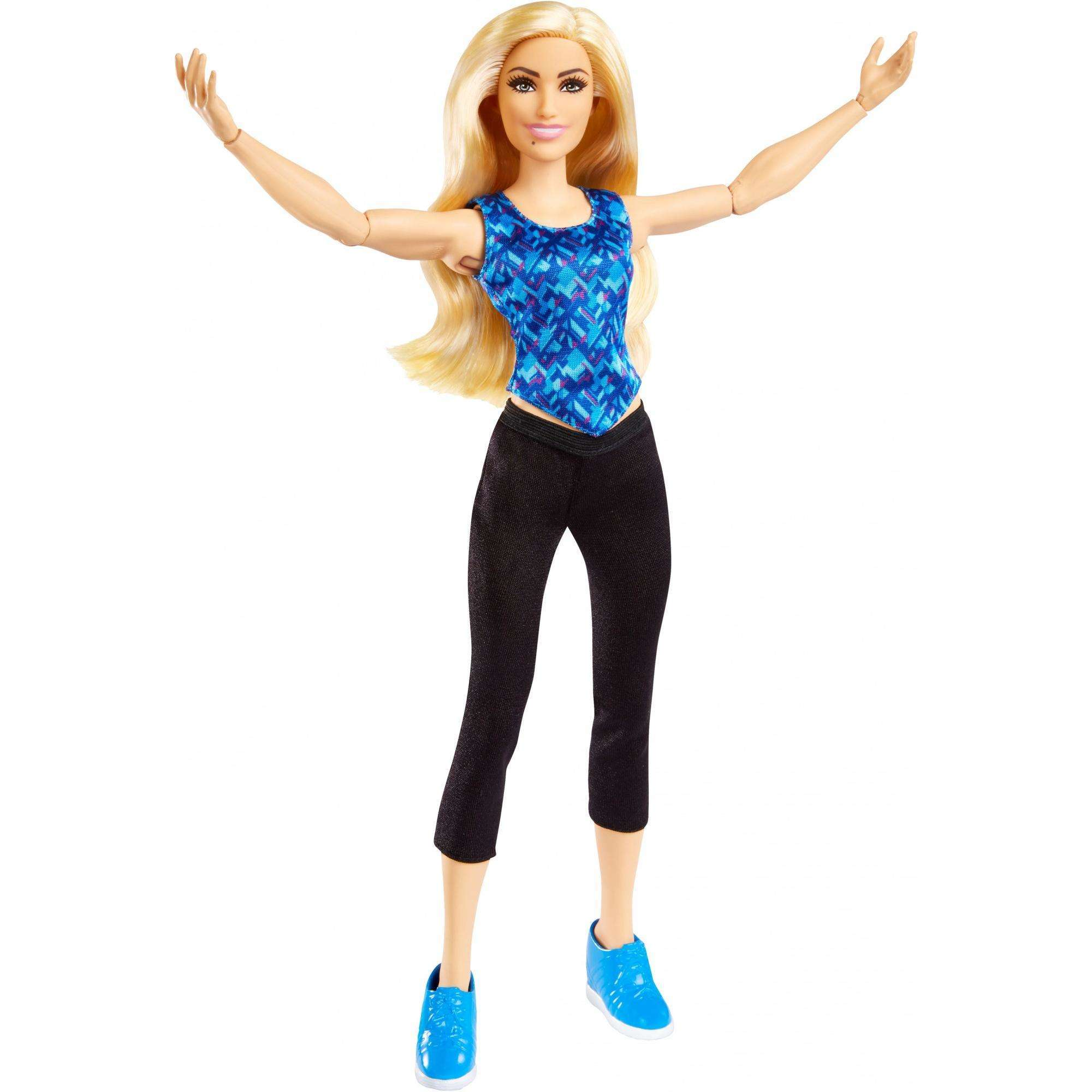 WWE Superstars Charlotte Flair 12-inch Posable Action-Fashion Doll