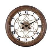 """Cooper Classics 4859 Audrey 24.5"""" X 24.5"""" Wall Clock"""