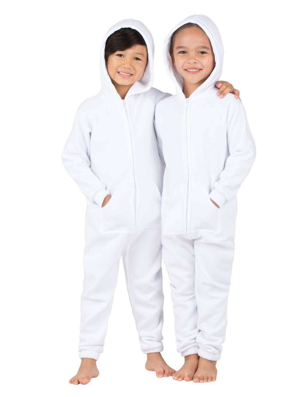 1f520cb55671 Footed Pajamas - White Frosting Toddler Footless Hoodie Onesie ...