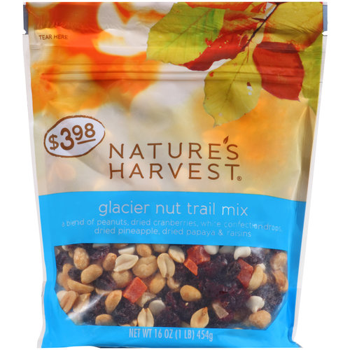 Nature's Harvest Glacier Nut Trail Mix, 16 oz