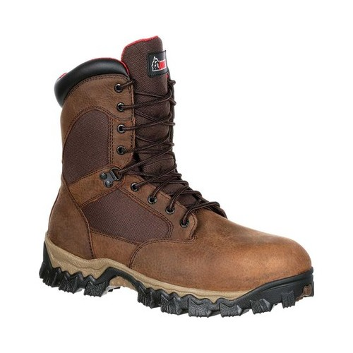 Men's Rocky AlphaForce Composite Toe Waterproof Insulated Boot by Rocky