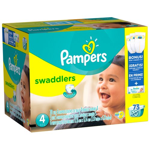 Pampers Pampswd S4 Sp Inpk 70ct