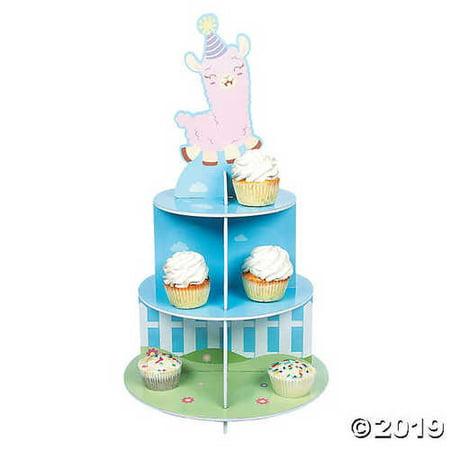 Llama Stands - Lil' Llama Cupcake Stand