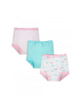 Gerber Organic Cotton Reusable Training Pants, 3-pack (Toddler Girls)