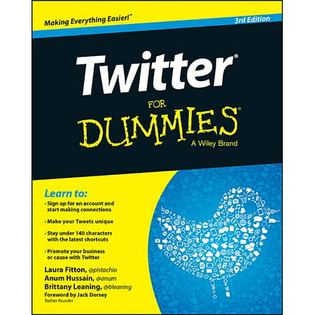 Twitter for Dummies (Edition 3) (Paperback)
