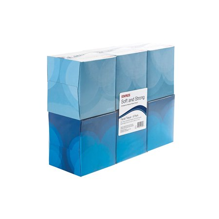 Brighton 2-Ply Cube Box Tissues 6 Boxes/Pack (33604) 365386