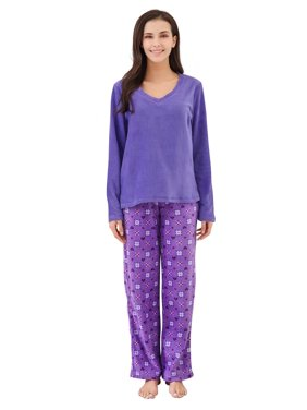 Richie House Women's Soft and Warm Lightweight Pajama Sleepwear Set with Pants RHW2862