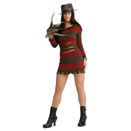 Secret Wishes Miss Krueger Costume, Red, - Miss Krueger