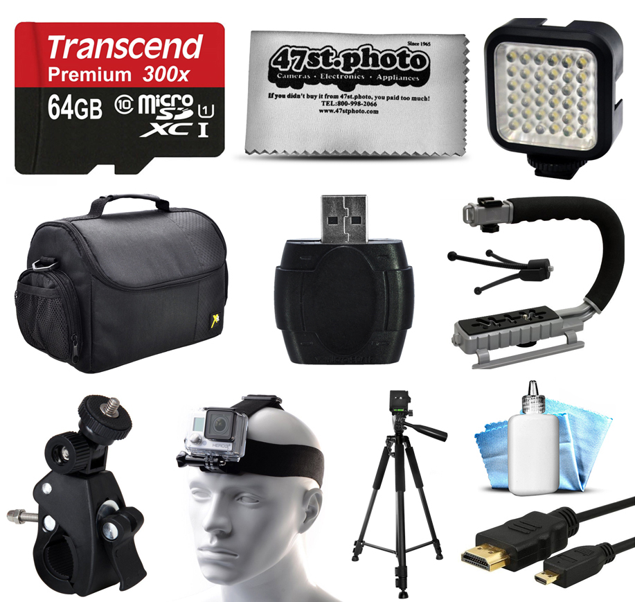 Opteka Essential Accessories Package for GoPro Hero4 Hero...