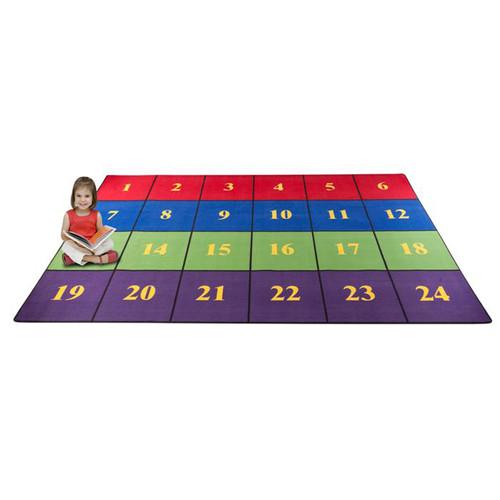 Kid Carpet Classroom Seating Squares Area Rug
