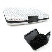 RFID Bling Aluminum Metal Business ID Credit Card Wallet Holder Case Box Gift !!