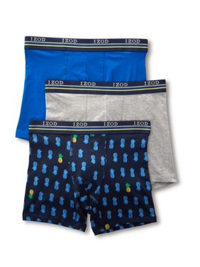 65480b62367ea0 Product Image Men's Izod 181WB12 Tropical Mix Cotton Stretch Boxer Brief -  3 Pack