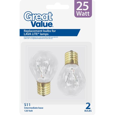 Great Value Lava Lamp Replacement Bulbs 25 W Walmart Com