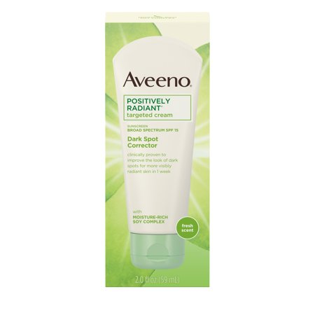 Aveeno Positively Radiant Dark Spot Cream with SPF 15, 2.0 fl.