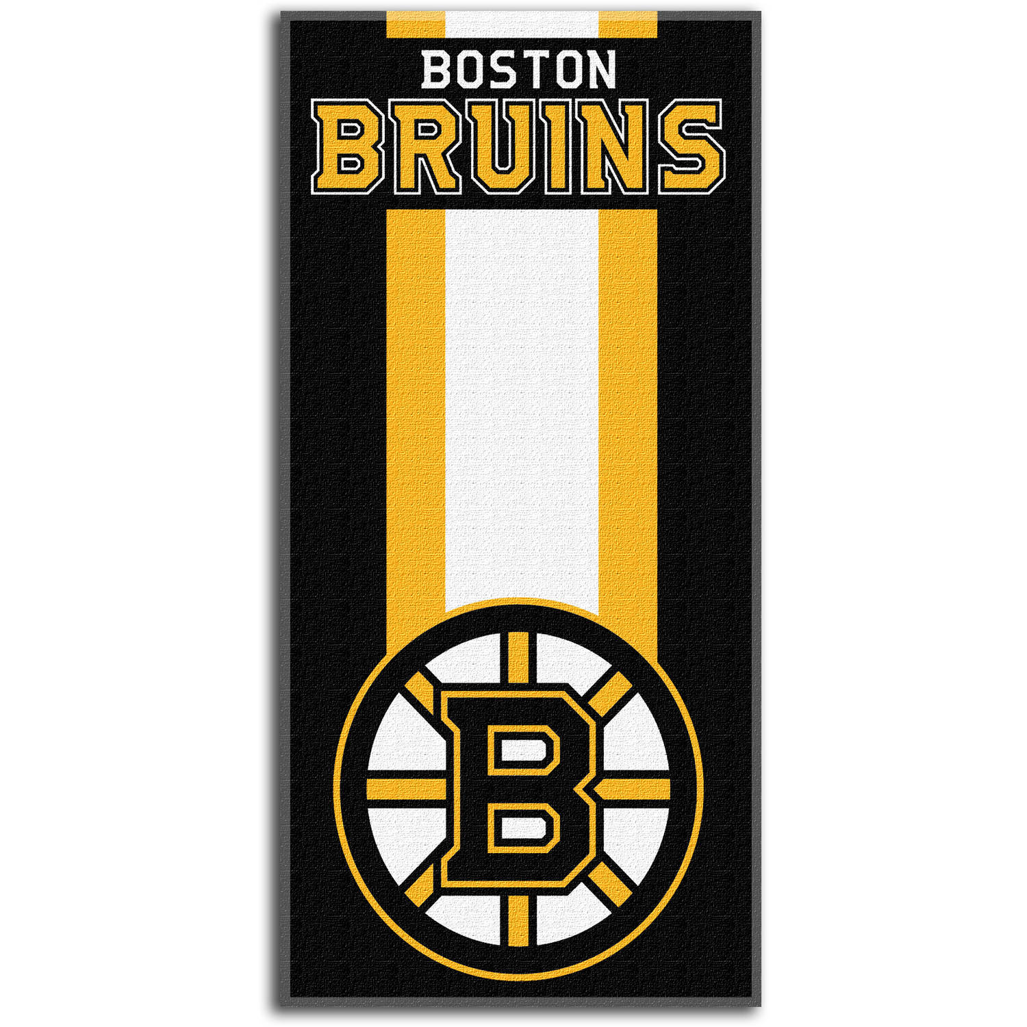 "NHL Boston Bruins ""Zone Read"" 30"" x 60"" Beach Towel"