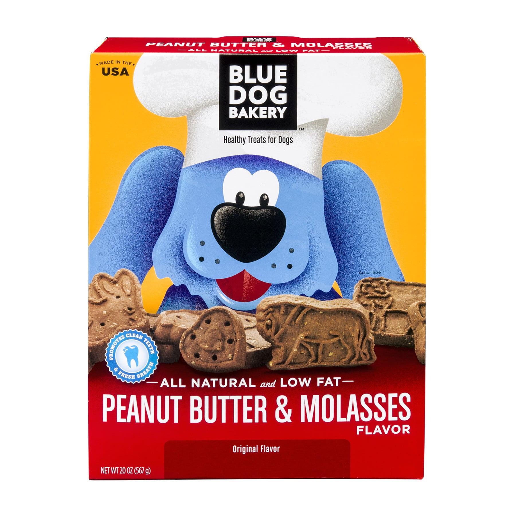 Blue Dog Bakery Peanut Butter & Molasses Healthy Dog Treats, 20 Oz.