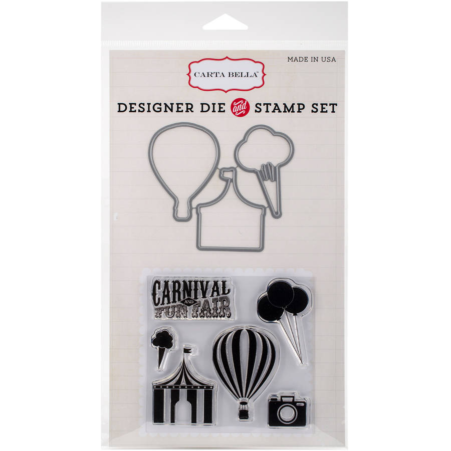 Carta Bella Soak/Sun Die/Stamp Carnival Fun