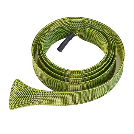 30mm 170cm Expanable Fishing Tools Braided Mesh Wrap Casting Fishing Rod Sleeve Cover Pole Glover Protector Bag