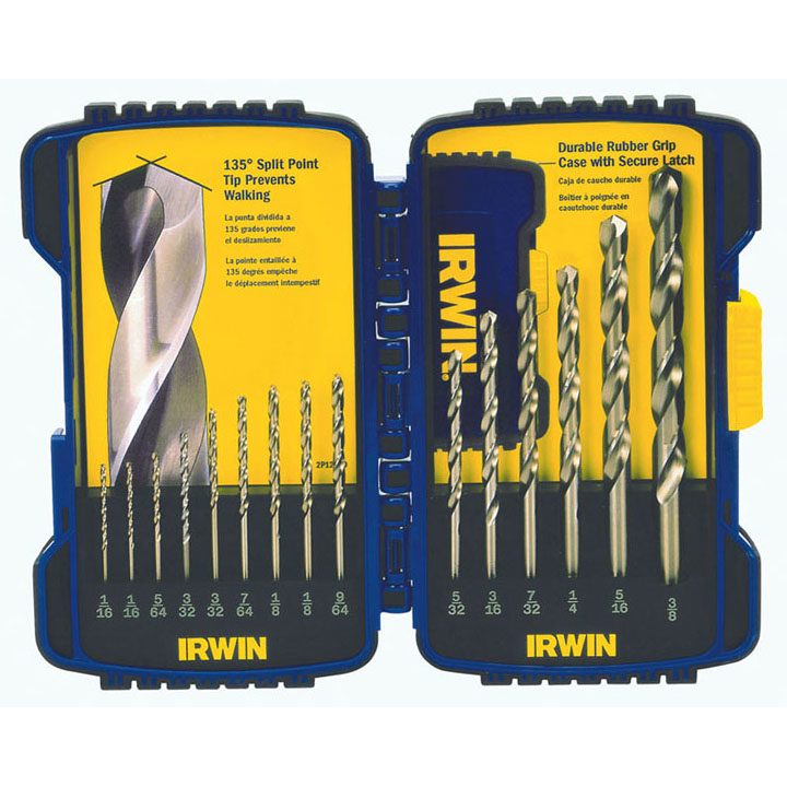 Irwin 316015 15 Piece Cobalt Drill Bits by IRWIN INDUSTRIAL TOOL COMPANY