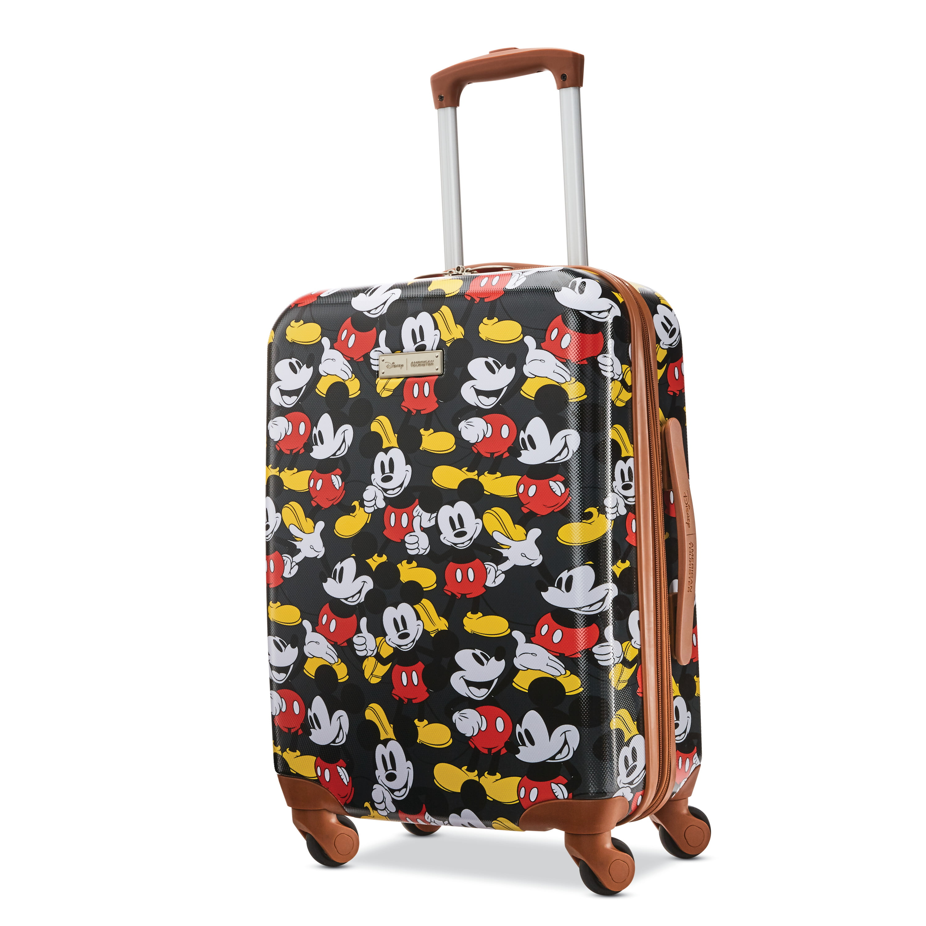 American Tourister American Tourister Disney Minnie Mouse 21 Inch Hardside Spinner Carry On Luggage One Piece Walmart Com Walmart Com