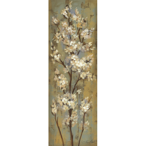 Star Creations ''Almond Branch II'' by Silvia Vassileva Painting Print on Wrapped Canvas