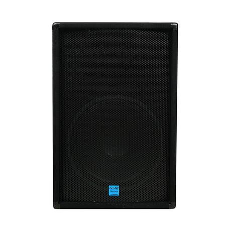 Gemini GSM Series GSM-1585 Professional Audio 15-inch Woofer DJ Stage Passive Loudspeaker, 15' x 5' Horn with Four 3' Piezo Tweeters, 700 Watt Peak (700 Watts Peak)