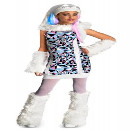 Monster High Abbey Bominable Costume - Medium](Abbey Bominable Makeup)
