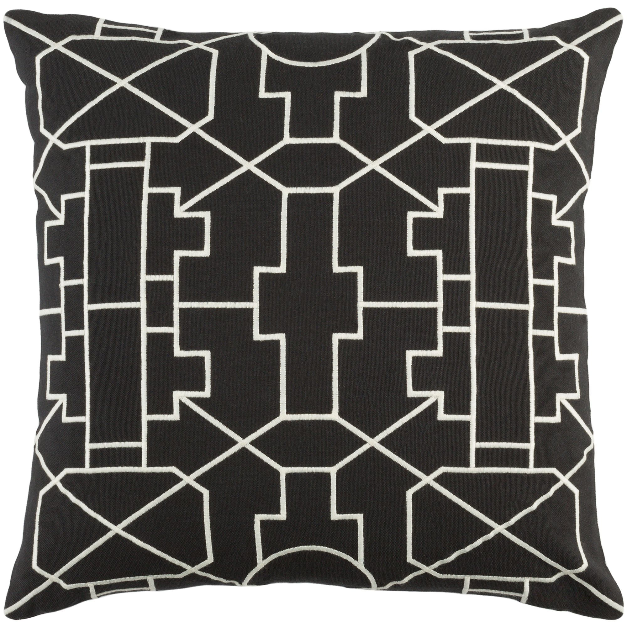 """Artistic Weavers Kingdom Lei 18"""" x 18"""" Pillow (with Down Fill)"""