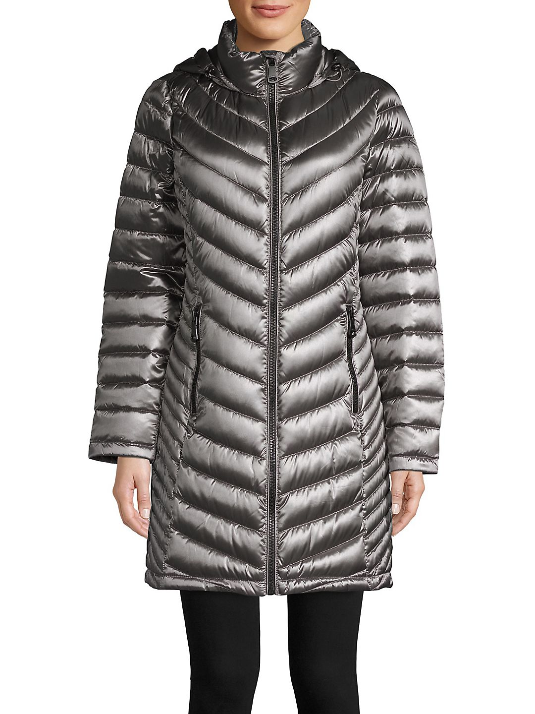 Product Image Long Packable Puffer Coat Premium Womens Coats \u0026 Jackets - Walmart.com