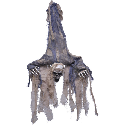 Life-Size Hanging Upside Down Ghoul Halloween Prop