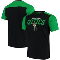 eb7a459172a Product Image Boston Celtics Fanatics Branded Iconic T-Shirt - Black Kelly  Green
