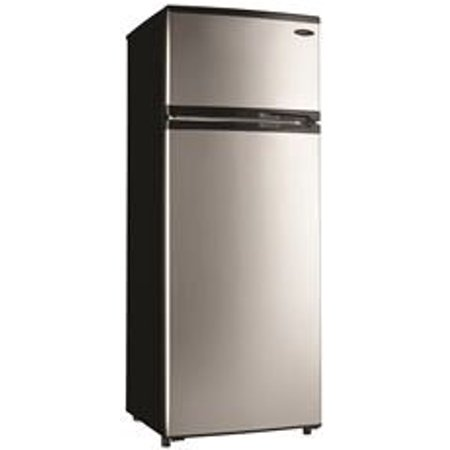 DANBY 7.4 CU. FT. TOP FREEZER REFRIGERATOR, STAINLESS STEEL ...