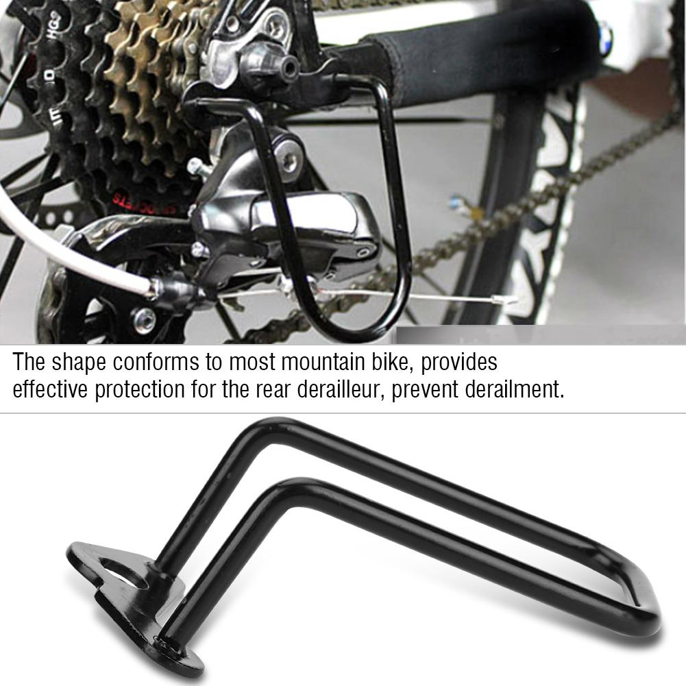 VINTAGE BIKE BICYCLE REAR DERAILLEUR GUARD CAGE PROTECTOR MUSCLE MOUNTAIN MTB