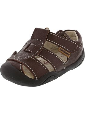 Pediped Sydney Chocolate Ankle-High Leather Sandal - 3.5M
