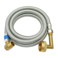 """Lasco  10-0981 72"""" X 3/8"""" Stainless Steel Braided Dishwasher Supply Flex"""