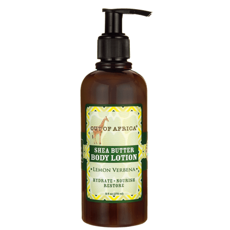 Out of Africa Shea Butter Body Lotion - Lemon Verbena 9 fl oz Lotion (Verbena Body Butter)