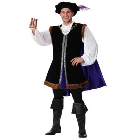 Plus Size Noble Renaissance Man Costume - Plus Size Renaissance Costumes 4x