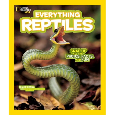National Geographic Kids Everything Reptiles : Snap Up All the Photos, Facts, and Fun - 5 Halloween Fun Facts