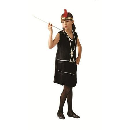 Deluxe Flapper Girl Costume