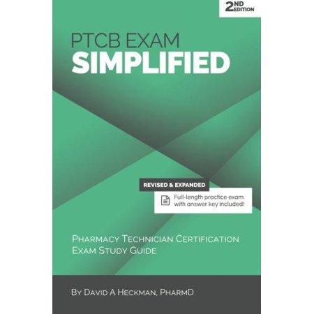 Ptcb Exam Simplified  Pharmacy Technician Certification Exam Study Guide