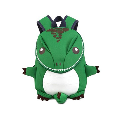 Kids School Bag Lightweight Animal Dinosaur Shape Kindergarten Backpack