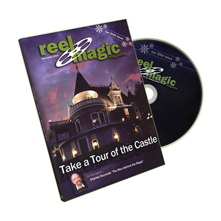 Reel Magic Episode 20 (The Magic Castle Tour) - DVD - Castle Halloween Episode
