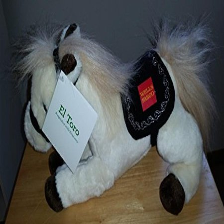 Wells Fargo Limited Edition 2014 El Toro Plush Pony